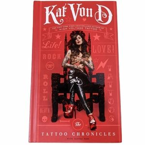 Kat Von D The Tattoo Chronicles Hardcover